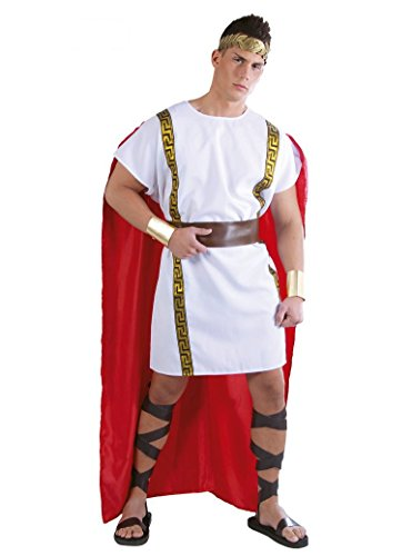 Fiestas Guirca Ancien Homme Adulte Costume Romain Rome