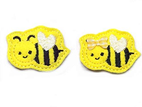 Biene Haarspange für Kleinkinder - freie Farbwahl
