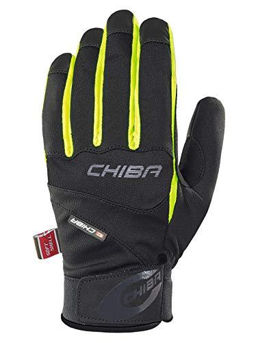 Chiba Tour Plus Fahrrad Handschuhe schwarz/gelb 2016: Größe: XL (10)