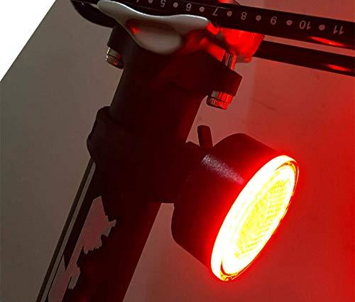 ZHBH Luz para Bicicleta Luz Trasera para Bicicleta Luz Trasera para Bicicleta...