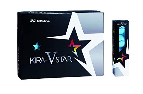 キャスコ(Kasco) ゴルフボール KIRA STAR V キラスターV ユニセックス キラスターVN アクア 最適ヘッドスピード: 25~45 2ピースボール: 1コア+1カバー