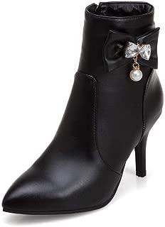 BalaMasa Womens ABS14048 Pu Boots