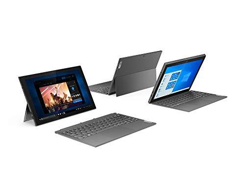 Lenovo IdeaPad Duet 3i (10,3 Zoll, 1920x1200, Full HD, WideView, Touch) 2-in-1 Tablet (Intel Celeron N4020, 4GB RAM, 64GB eMMC, WLAN, Intel UHD-Grafik 600, Windows 10 Home) grau