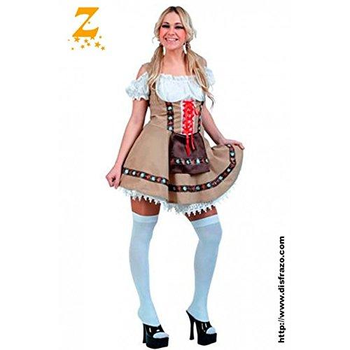 Disfraz Tirolesa Adulta
