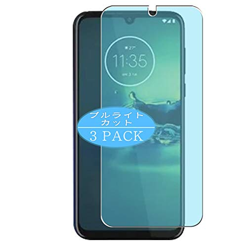 VacFun 3 Piezas Filtro Luz Azul Protector de Pantalla, compatible con Motorola One Vision Plus, Screen Protector Película Protectora(Not Cristal Templado) NEW Version