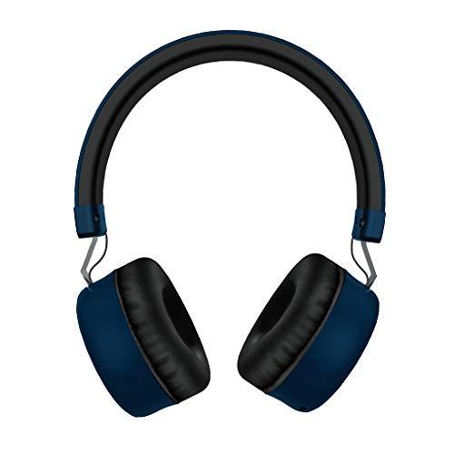 Kabelloses Headset 5.0 Headset Subwoofer Stereo Eingebautes Mikrofon Faltbares(Blau)