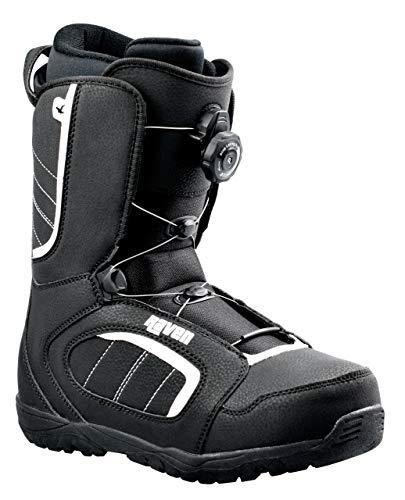 RAVEN Snowboard Boots Target ATOP mit Schnellverschluss (46 (30cm))