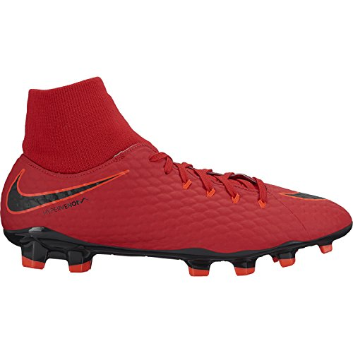 Nike Hypervenom Phelon 3 DF FG Größe 40 EU University RED/Black