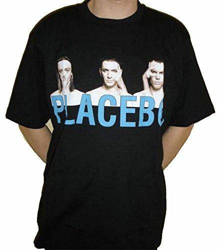 T-shirt Placebo Nero L