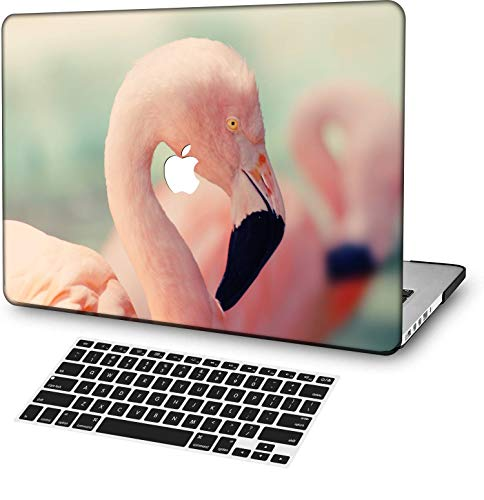 MingCaiFS Laptop Case for MacBook Air 13' Retina (Touch ID) Cut Out Design,Plastic Pattern Ultra Slim Light Hard case Keyboard Cover (Model:A2179) Pink Series 0982