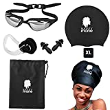 Best Dry Bag Dry Sack Ons - Happy Mane Goggle and Cap Large Silicone Swim Review