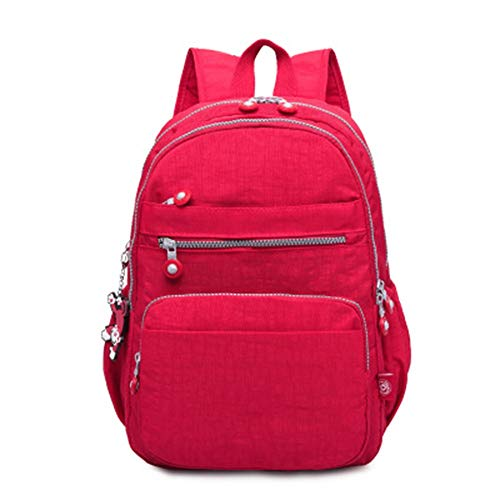 School Backpack Ergonomic Durable Waterproof Travel Bag Nylon Lightweight Satchel With Many Small Pockets And Anti Theft Pocket Daypack for School University Casual Work