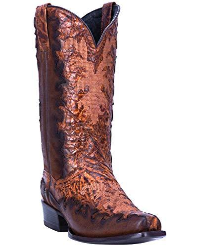 Dan Post Men's Duncan Western Boot Snip Toe Chocolate 13 D