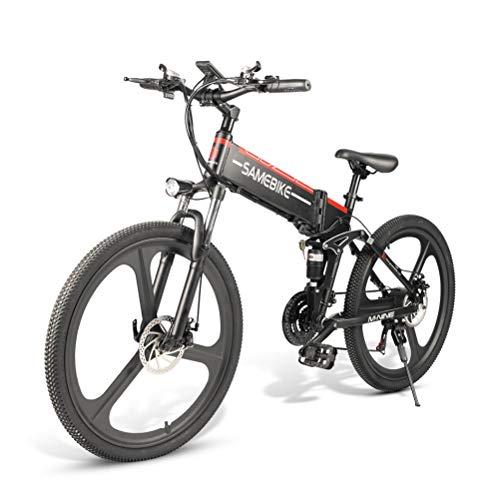 Bicicleta Eléctrica Plegable Aleación De Aluminio Montaña Bicicleta Eléctrica Unisex Adultos Jóvenes...