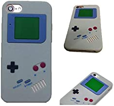 iPhone 6 Case,Retro 3D Game Boy Gameboy Design Style Soft Silicone Cover Case For New Apple iPhone 6 6G 4.7 inch,Not Fit For Apple iPhone 6 Plus 5.5 inch+ Free Cleaning Cloth As a gift (Gray)