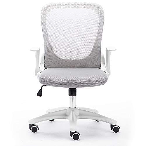 SXLZ Racing Gaming Chair Günstiger Atmungsaktiver Computer-Video-Stuhl Ergonomisches Design Mit Verstellbarer Armlehne Und Rückenlehne,Grey