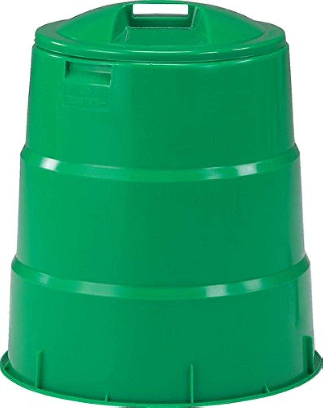フットボール精神負担三甲 サンコー 生ゴミ処理容器 コンポスター130型 805039-01 グリーン