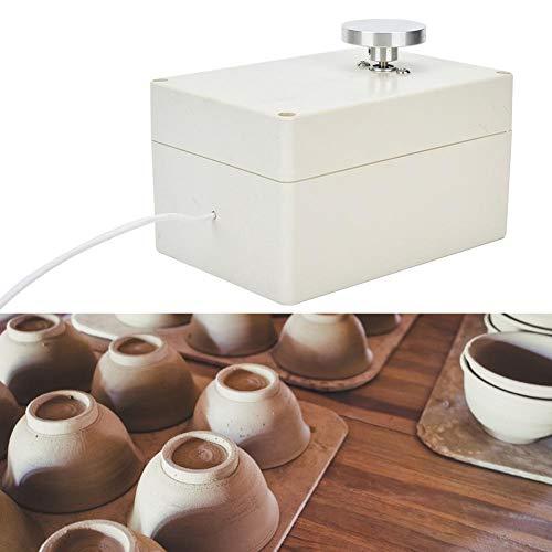 Qinlorgon Töpferscheibe, Mini-Töpferscheibe Keramikformwerkzeug für Keramiklehm Art Craft DIY Clay(USB-Stecker)