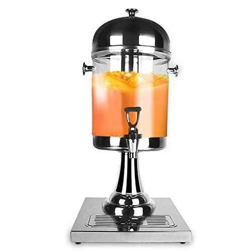 Macchina per Birra Durevole 8L acciaio inox singola testa succo multifunzione distributore di bevande succo macchina macchina Elegante Macchina per Bevande ( Colore : Silver , Size : 26x35x60cm )