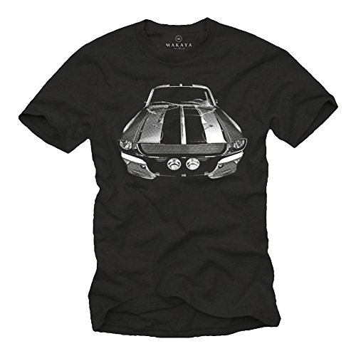 Ford Mustang T-Shirt Eleanor schwarz L