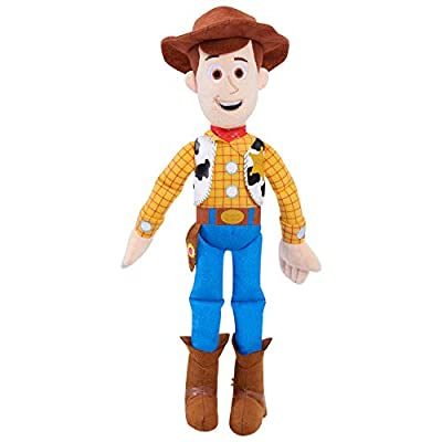 Disney•Pixar'sToy Story 4 Pull String Talking Woody 14-Inch Plush Toy Cowboy, Amazon Exclusive by Just Play