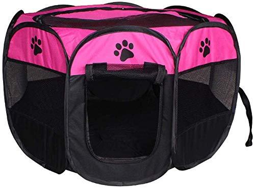 YLCJ Box voor huisdieren Opvouwbare laptop Puppy hond kat puppy Konijn Pen Cage Waterdichte Kennel Gordijn voor buitengebruik (Kleur: F, Maat: S), M, F