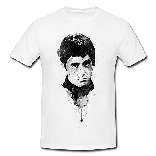 Al Pacino Scarface I T-Shirt Herren, Men mit stylischen Motiv von Paul Sinus