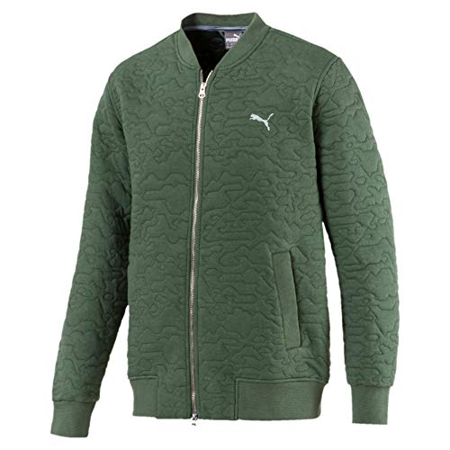 Puma Golf Herren Camo Bomberjacke Laurel Wreath XS