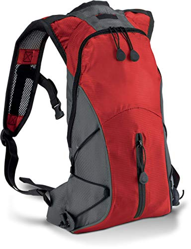 Hydra backpack - Red/Dark Grey, One Size