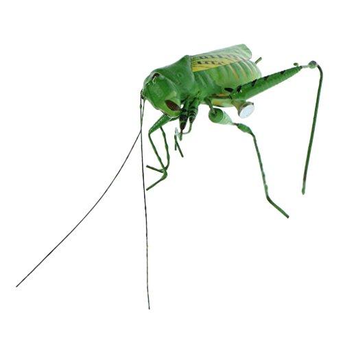 Homyl Animaux Aimant en Clay Pot D'insectes Décoration Figurine Artisanat Micro-paysagère - Katydid