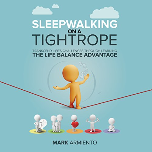 Sleepwalking on a Tightrope audiobook cover art