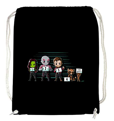 Certified Freak Groot Lineup Gymsack Black