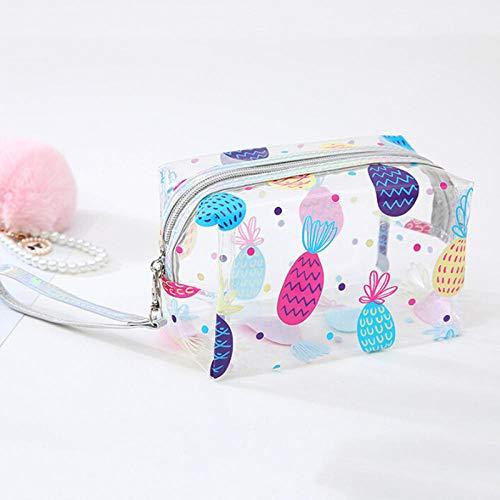 Cosmétique Sac De Mode Étanche Portable Toilette Voyage Maquillage Lavage Poche Organisateur Sac-Ananas_17.2 * 10 * 11 cm