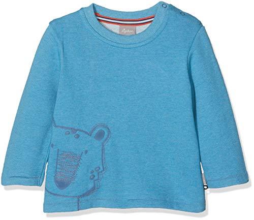Sigikid Baby-Jungen Sweatshirt, Blau (Light Blue 500), 92