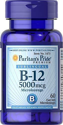 Puritans Pride Vitamine B12 5000 mcg 60 Zuigtableten 1473