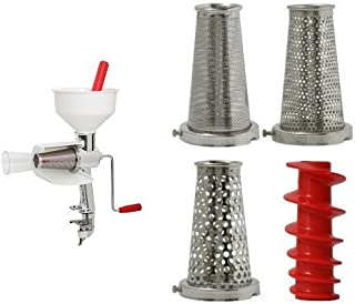 Victorio 250 Food Strainer (Special Package Includes Strainer and 4 pc Accessory Pack)