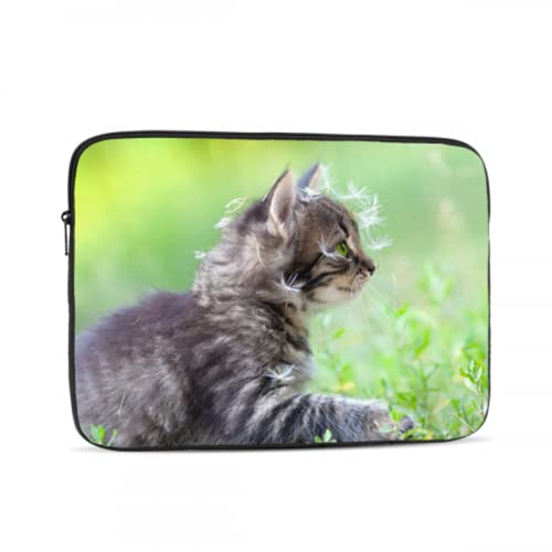 Mac Covers Dandelion Seeds Cat Animal Case MacBook Air Multi-Color & Size Choices10/12/13/15/17 Inch Computer Tablet Briefcase Carrying Bag