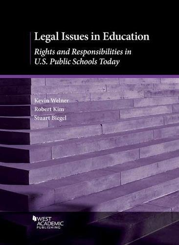 Compare Textbook Prices for Legal Issues in Education: Rights and Responsibilities in U.S. Public Schools Today Higher Education Coursebook 1 Edition ISBN 9781683281641 by Welner, Kevin,Kim, Robert,Biegel, Stuart