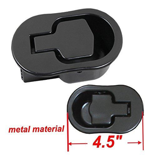 Replacement Recliner Handle Chair Sofa Couch Release Replacement Metal Handle Black Metal Pull Recliner Handle 2pcs FOLAI Recliner Replacement Parts