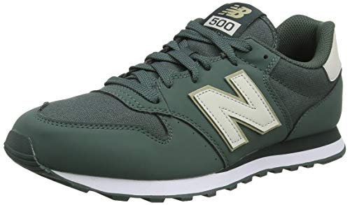 New Balance 500, Zapatillas para Hombre, Verde (Faded Rosin/Moonbeam/Trench Cfm), 43 EU