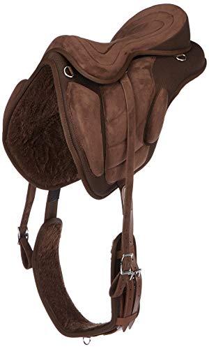 Cwell Equine Designer VE Clair Cristal Frontal Excellente id/ée de Cadeau Design Unique Triple Split /œil Forme Full 40,6/cm, Marron