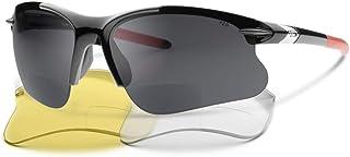 حزمة عدسات SL2 ProX الجديدة المزدوجة - وفر 19.95 نظارة شمسية للقراءة ثنائية البؤرة الرياضية