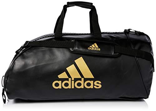 Adidas Sac de sport 2 en 1 Training L noir/or