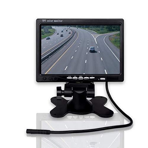 WZhen Csx07T-Hq01 Monitor Desktop per Auto da 7 Pollici LCD Simula Schermo LED