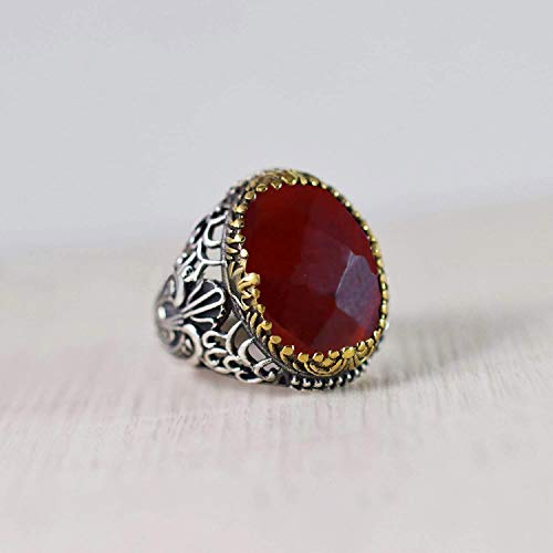 Adjustable Ring Statement Ring Handmade Ring Fashion Ring HR81 925 Sterling Silver Ring Morganite Sterling Silver Ring Birthstone Ring