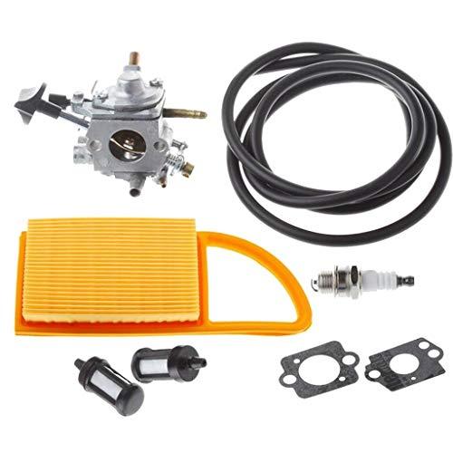 Tubayia 8pcs/Set Vergaser Kit Ersatzteile Zubehör für STIHL BR500 BR550 BR600 Rucksack Gebläse