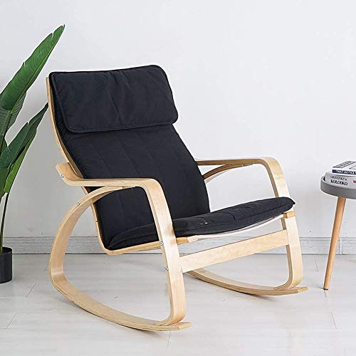 V-Parasoll Outdoor Rocking Chair Cushion,High Back Armchair Chair Cushion for Balcony Garden,Patio Chaise Lounger Cushion Recliner Chair Cushion