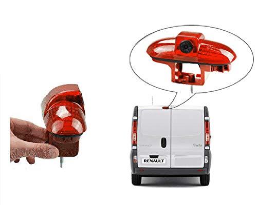 YMPA Rückfahrkamera kompatibel mit Transporter Renault Trafic und Opel Combo Vauxhall Vivaro Kabel NTSC für Monitor Rückfahrsystem