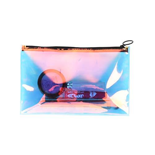 Fenical Kupplung Handtasche Hologramm Clutch Bag Laser Make-up Tasche für Frauen Grils Damen