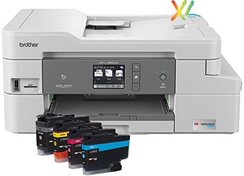 Brother INKvestment Tank Inkjet Printer, MFC-J995DW XL, Extended Print Color All-in-One Printer with Mobile Printing and Duplex Printing, Up To 2-Years of Ink In-box